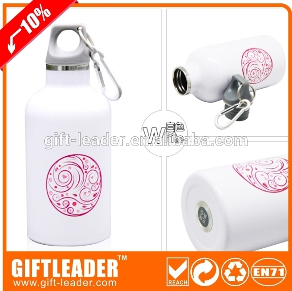 Flat Aluminum Flask/Metal Water Bottle/Army Sport Bottle