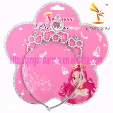 Wholesale Sparkly Plastic Tiara and Crown for Kids Party