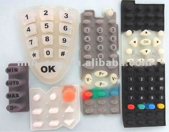2014 The eco-friendly conductive silicon rubber keypad