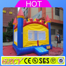 Cheap home use inflatable bounce house for kids, indoors nylon Residential Inflatable Bouncer