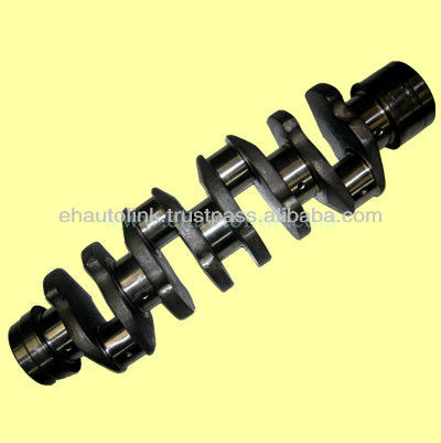Nitriding Crankshaft for Isuzu 4HF1 8970331712 8972026340