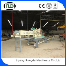 CE approved high performance wood drum chipper rice straw cutting machine