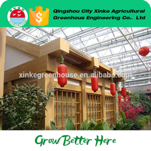 new design Africa Popular Anti-insect Net sightseeing greenhouse Exported to Worldwide