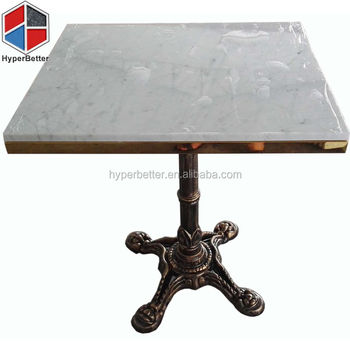 Top quality bianco carrara white marble table top