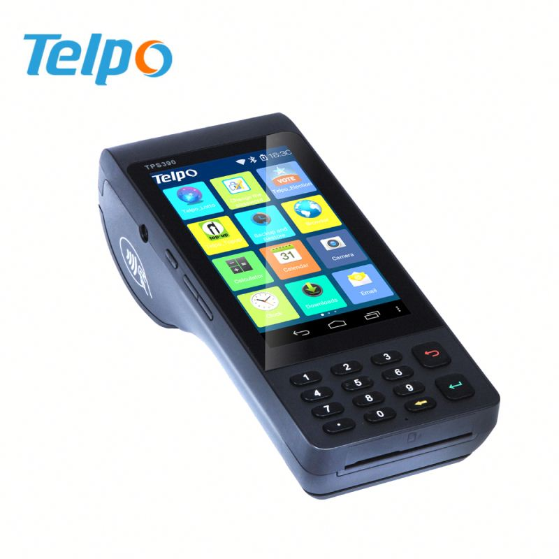 Telepower ePOS System For Sale Tax Change in Control Android POS all in One TPS390