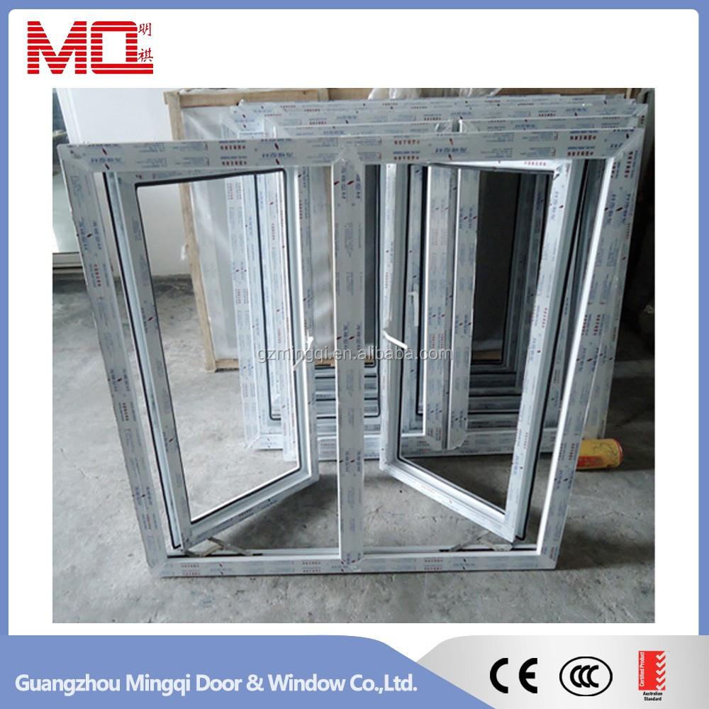 Heat sound insulated upvc windows and doors factory view for Cheap windows and doors for sale