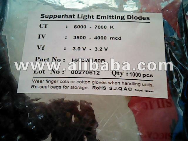 supperhat light emitting diodes (LED)