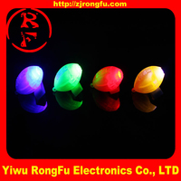China factory sale color changing led lights led city color light ring finger led light