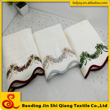 Wholesale Cotton Velvet Bath Towel With Embroidery, Embroidered Bath Towel Set
