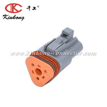 3 Way Automotive Deutsch DT Car Cable Connectors DT06-3S