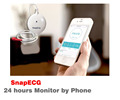 24 hours monitoring snap ECG bluetooth 4.0 with android/IOS system