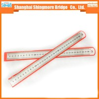 2017 china cheap sales good quality 30cm stainless steel ruler for student