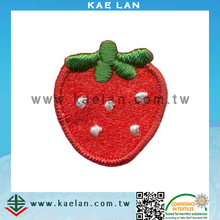 Straberry Embroidered Patch for bag/clothing and hair ornament