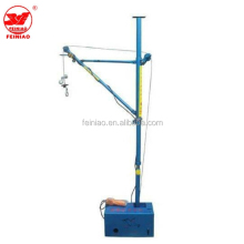 Hot seller light duty 180 degree portable mini lift construction crane