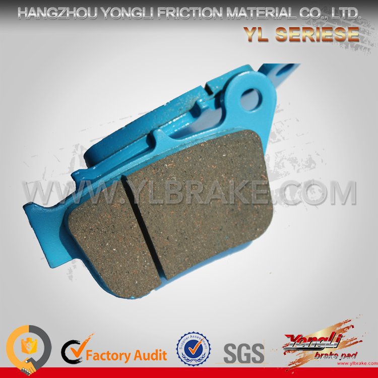 2016 New Competitive Price China Supplier Brake Pads Decorative Accessories Motorcycles