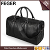 FEGER luggage mens genuine leather travel bags bulk wholesale