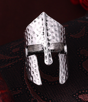yiwu wholesale market alloy Native American Indian Gothic mask Biker Mens Ring 2016 NEW Sales fashion design rings
