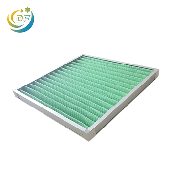 Factory supply low price furnace pleated media air filters