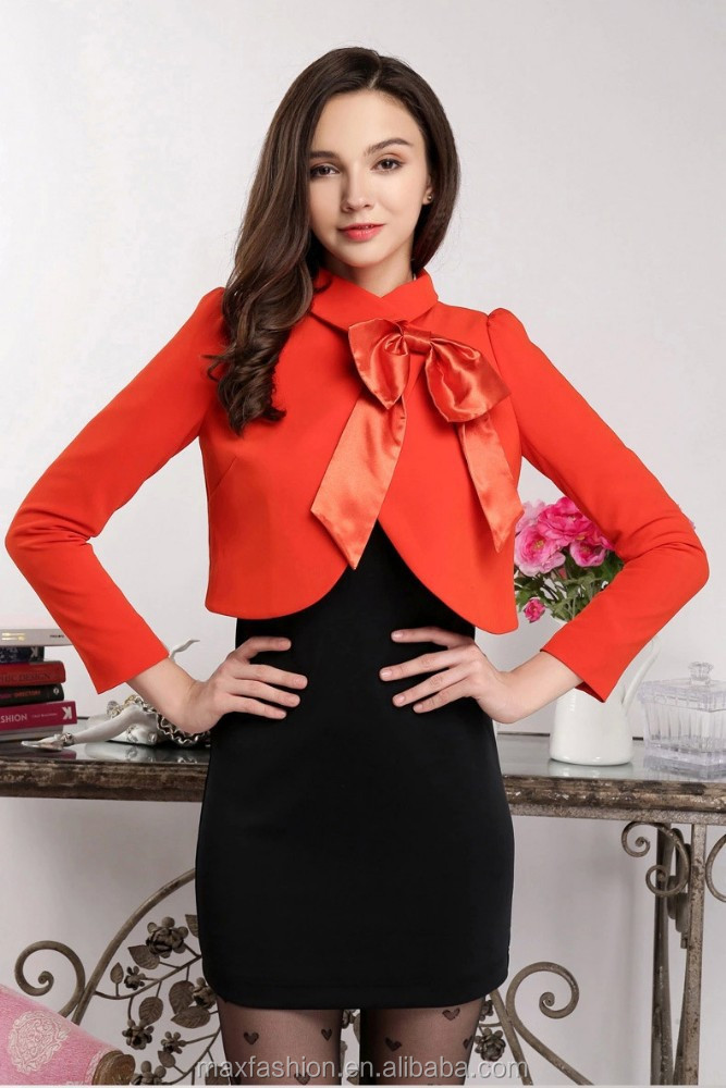 Women formal coat and skirt fashion apparel china supplier hot selling in europe