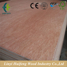 Die cutting Wood Industry Professional Okoume faced Plywood Commercial Plywood for Asia