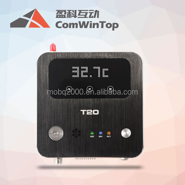 Smart wifi Thermostat LCD Display Air Conditioner Room Temperature and Humidity Data Logger