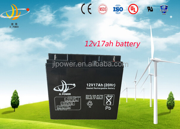 12 Volt AGM VRLA solar Battery Rechargeable 12v 17ah electric scooter battery 12v 17ah exide ups battery