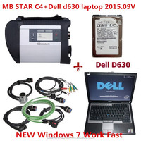 professional mb star c4 sd connect used used car diagnostic scanner for mercedes with dell 630 laptop