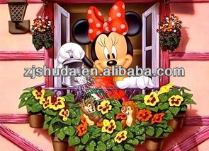 3d hanging pictures of Mickey