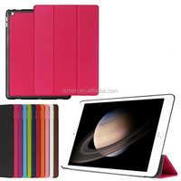 New Ultra Slim Custer Magnetic Flip Cover Stand PU Leather Case Smart 3 Fold Case for Ipad pro12.9