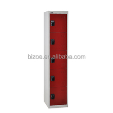 Hot sale 5 door cabinet design iron clothes almirah