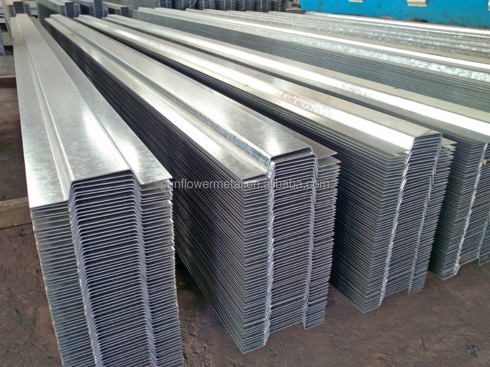 Customized great quality galvanized hat steel channel