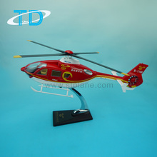 Capital helicopter ec-135 scale 1/24 42cm scale helicopter desktop model