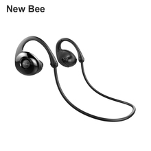 New Bee NB-7 Bluetooth Headsets, Wireless Sports Headphone, Waterproof Sweatproof Earbuds for Running, Gym