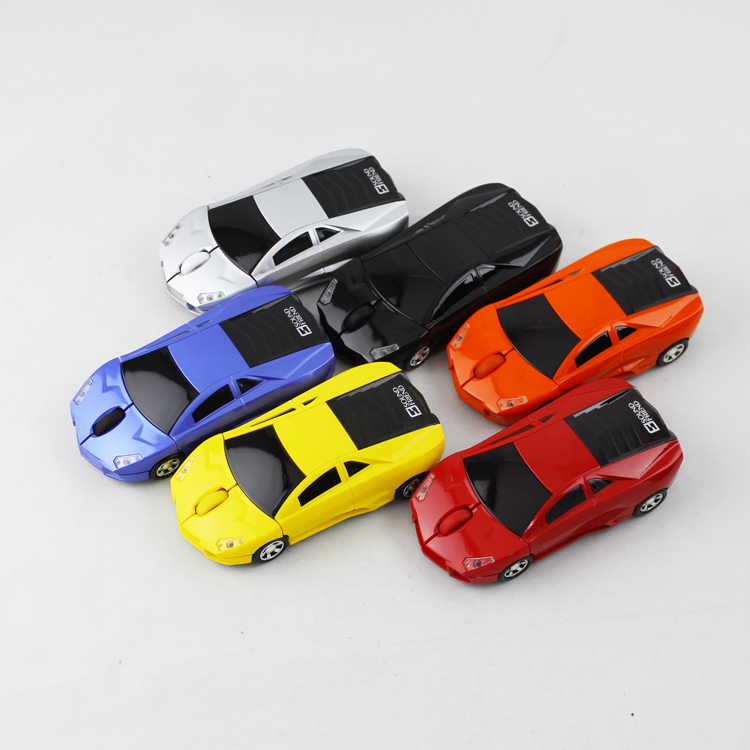1200DPI Car Wireless Optical Mouse Mice Car Shaped Mouses with USB receiver