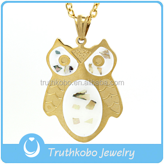 Wholesale fashion sets owl jewelry charms pendant diamond necklaces display at forever 21