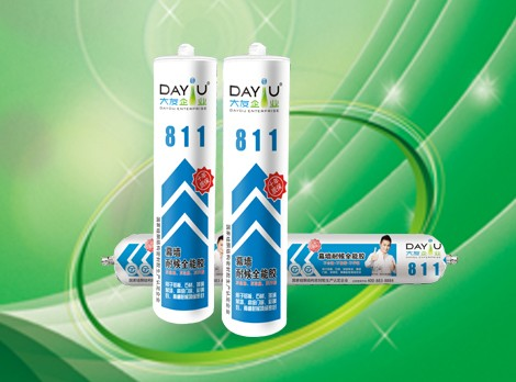 China factory high quality raw material sealant adhesive 100% silicone caulking