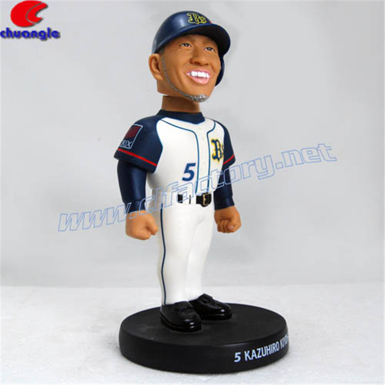 Custom Polystone Dashboard Wobbler Bobblehead Doll