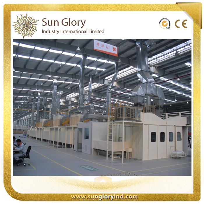 Cookware production line ceramic paint coating line