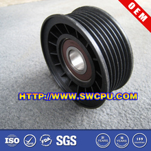 Custom good quality large v belt pulley material