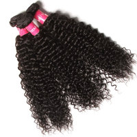 100% Virgin Raw Unprocessed Virgin Malaysian Hair 12Inch Kinky Curly Braiding Hair