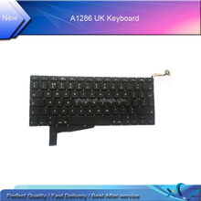 New laptop A1286 SP Spanish keyboard for macbook pro 15'' A1286 Spanish keyboard without backlight 2009-2011