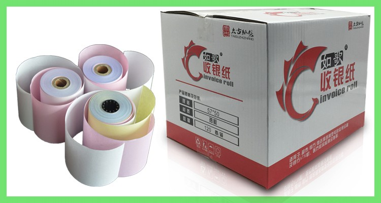 preprint glossy  paper label tag for garment with perforation