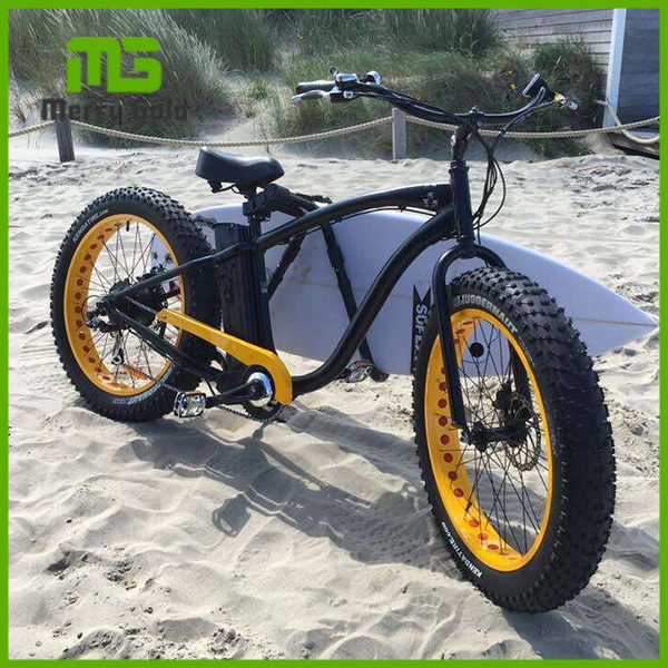 Hummer 35km/h electirc beach cruiser bicycle for sale