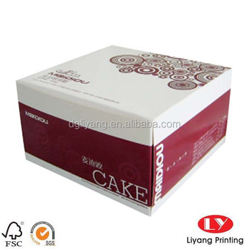 Design Your Own Cake Box : Custom Made Creative Paper Cake Packaging Box With Your ...