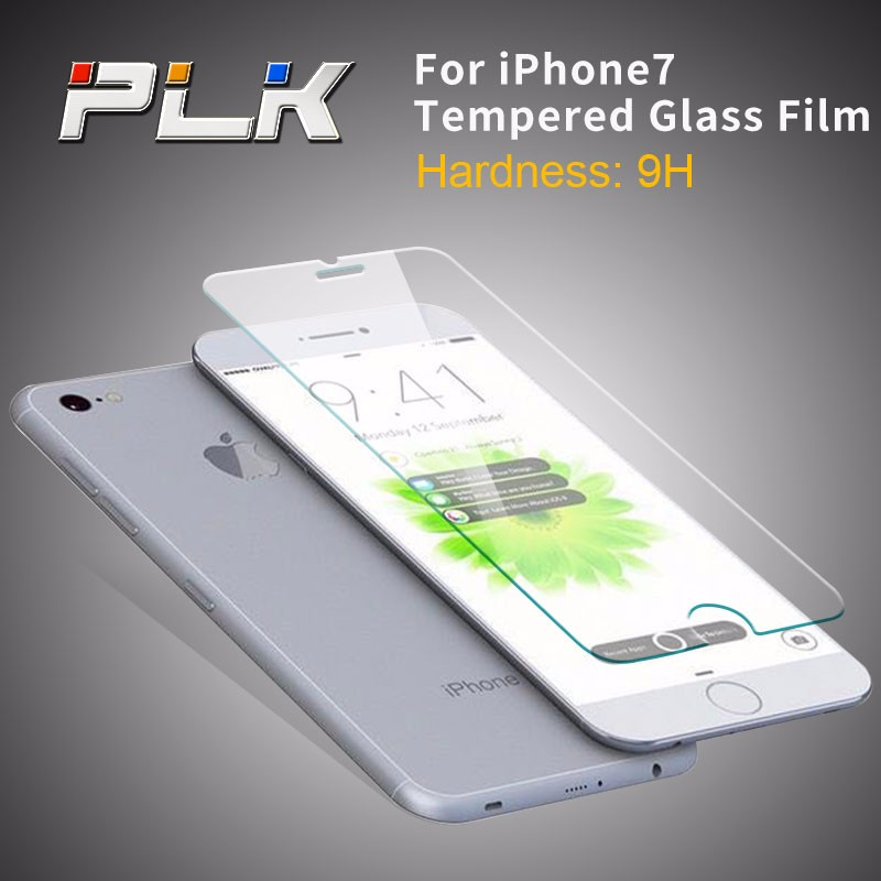 nuglas Factory price Anti scratch 9H tempered glass screen protector for apple iphone7 ,9h milo tempered glass screen protector
