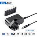 5-24V UK Plug 36W 5525mm Wall Mount Charger for Router, Moniter, Scanner,Speaker