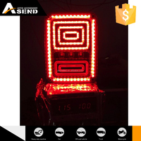 led taillight motorcycle tail light for Jeep Multifunctional Turn/ Brake/ Reverse 18w