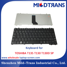 Wholesale laptop replacing Keyboard for TOSHIBA T135 SP layout
