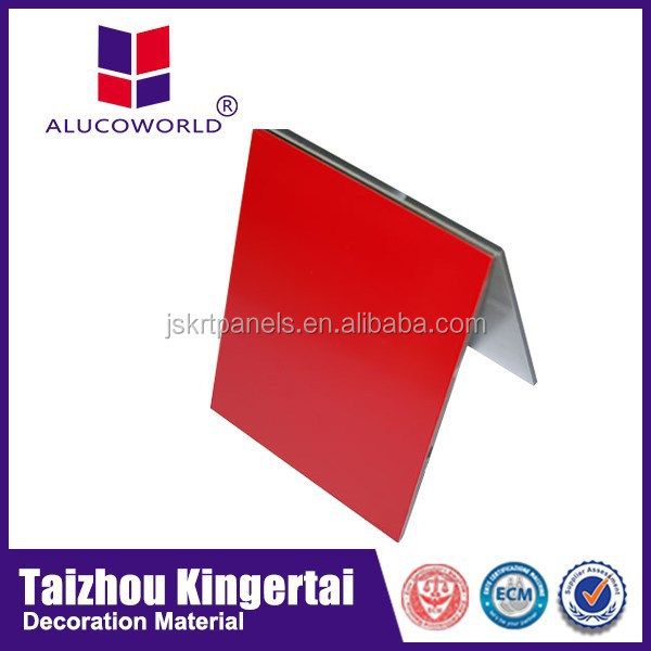 Alucoworld ACP Nano Mirror , Brushed Composite Panels aluminum packaging material