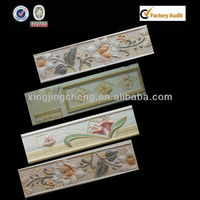 decor wall tile sulpture resin border 30x8cm